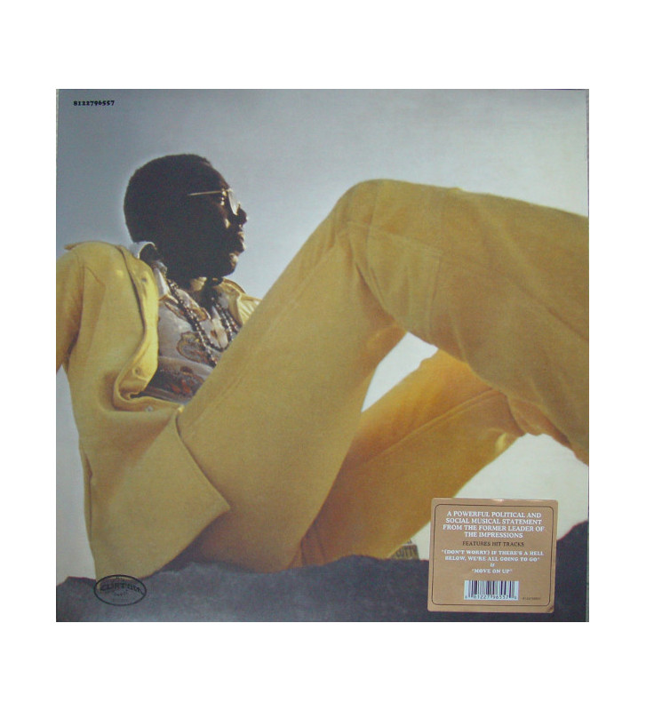 Curtis Mayfield - Curtis (LP, Album, RE, Gat) mesvinyles.fr
