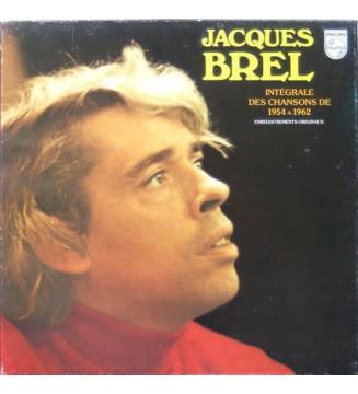 Jacques Brel - Intégrale Des Chansons De 1954 à 1962 (5xLP, Comp + Box) mesvinyles.fr