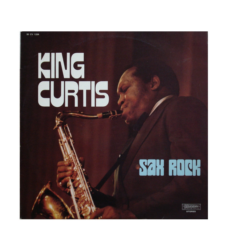 King Curtis - Sax Rock (LP, Album) mesvinyles.fr