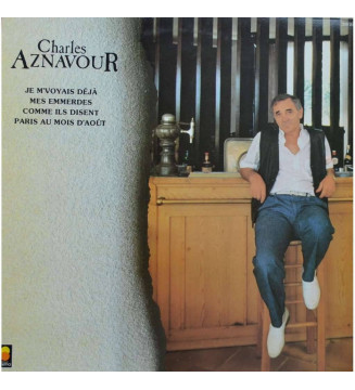 Charles Aznavour - Charles Aznavour (LP, Comp)