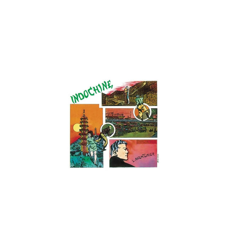 Indochine - L'Aventurier (LP, MiniAlbum, RE, RM) mesvinyles.fr