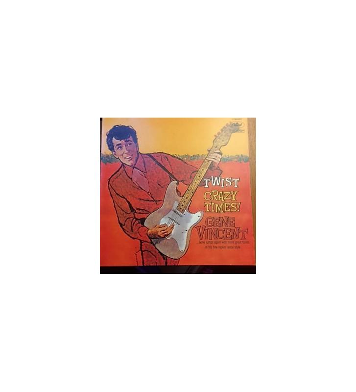 Gene Vincent - Twist Crazy Times (LP, Album, RE) mesvinyles.fr