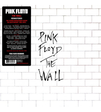 Pink Floyd - The Wall (2xLP, Album, RE, RM, 180) mesvinyles.fr