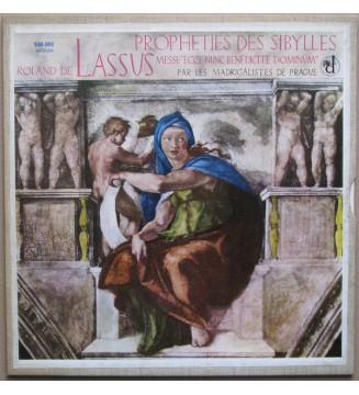 """Roland de Lassus - Les Madrigalistes De Prague* - Prophéties Des Sybilles - Messe """"Ecce Nunc Benedicite Dominum"""" (LP) mesvinyles"""
