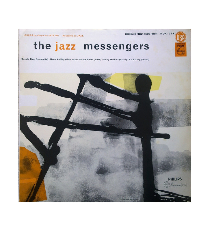 The Jazz Messengers* - The Jazz Messengers (LP, Album, Mono) mesvinyles.fr