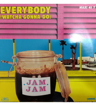 "Jam Jam - Everybody (Watcha Gonna Do) (12"")"