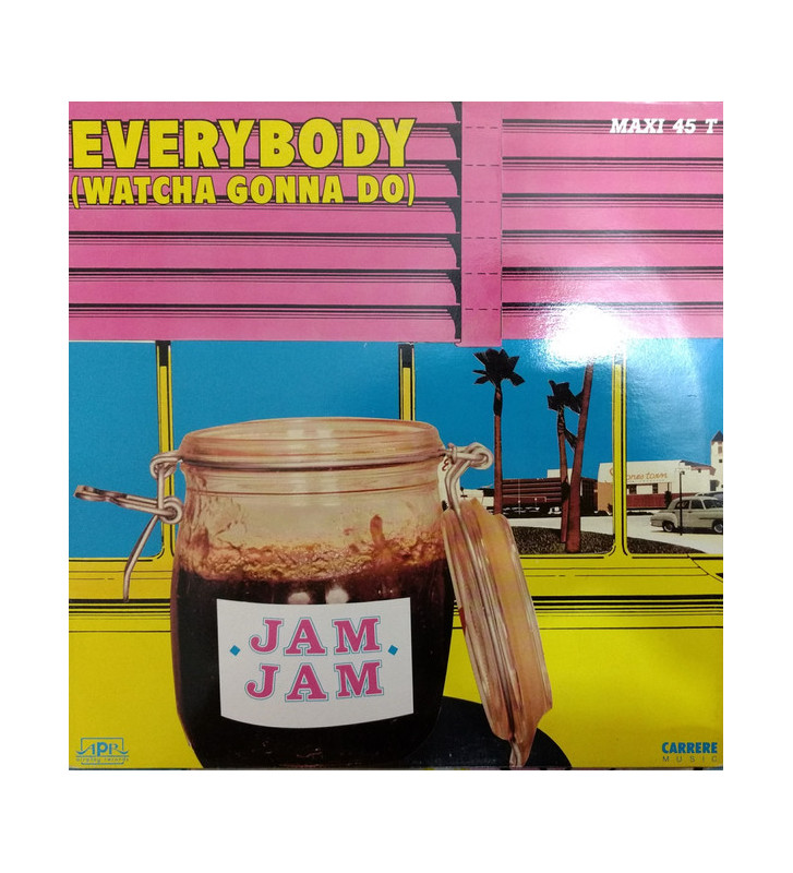 "Jam Jam - Everybody (Watcha Gonna Do) (12"") mesvinyles.fr"