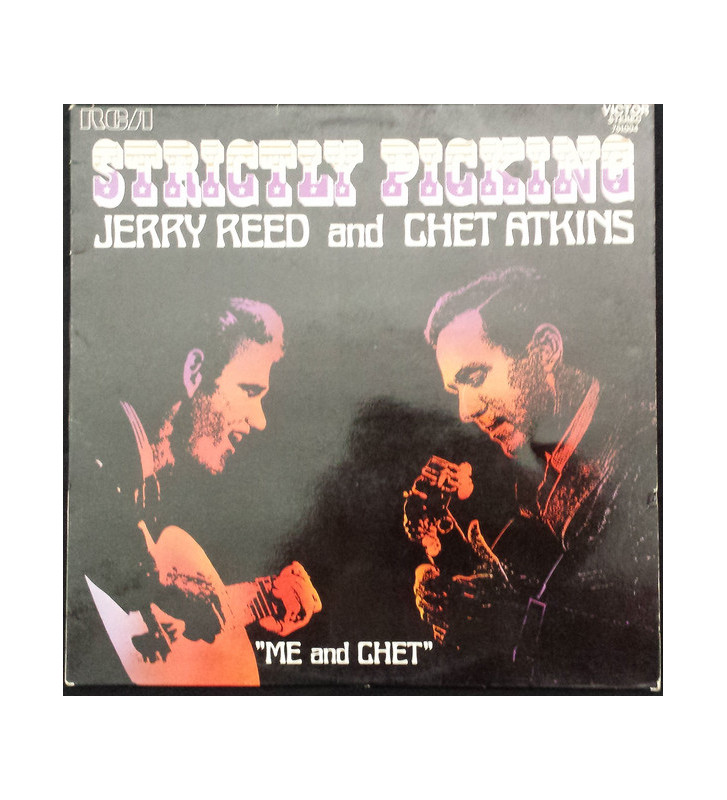 "Jerry Reed And Chet Atkins - ""Me And Chet"" (LP, Album) mesvinyles.fr"