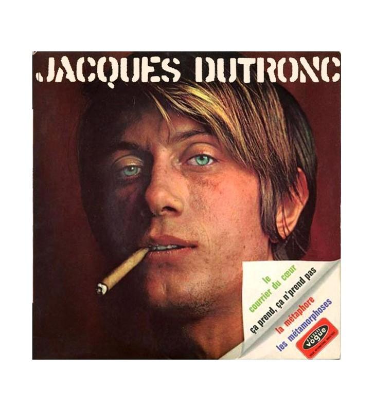 """Jacques Dutronc - Le Courrier Du Cœur (7"""", EP) mesvinyles.fr"""