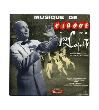 """Jean Laporte Et Son Orchestre - Musique de Cirque Nº 3 (7"""", EP, Single) mesvinyles.fr"""