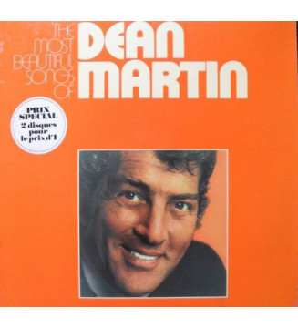Dean Martin - The Most Beautiful Songs Of... (2xLP, Comp) mesvinyles.fr
