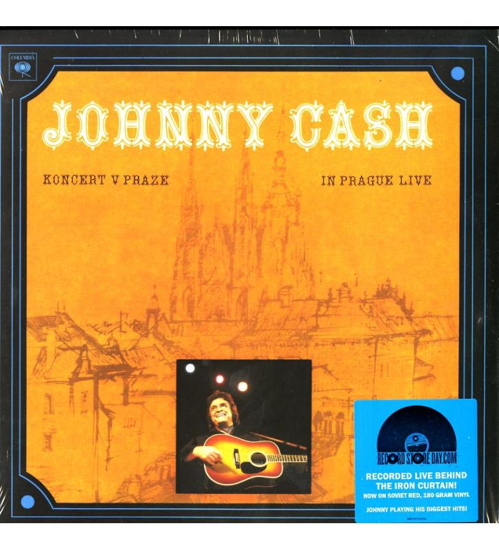 JOHNNY CASH - Koncert v Praze Disquaire Day (RSD) mesvinyles.fr