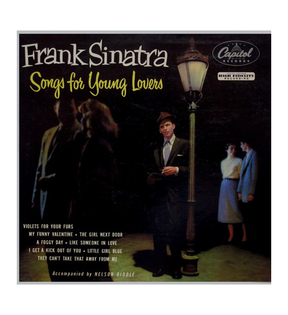 Frank Sinatra - Songs For Young Lovers (LP, Album)