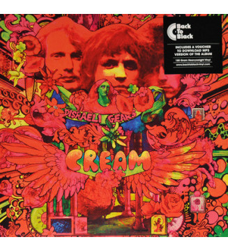 Cream (2) - Disraeli Gears (LP, Album, RE, 180) mesvinyles.fr