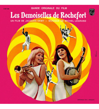 Michel Legrand - Les Demoiselles De Rochefort (Bande Originale Du Film) (2xLP, RE, Gat)
