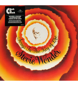 "Stevie Wonder - Songs In The Key Of Life (2xLP, Album, RE, 180 + 7"", EP) mesvinyles.fr"