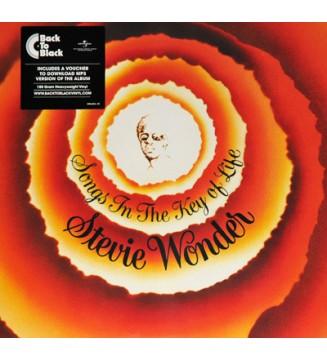 "Stevie Wonder - Songs In The Key Of Life (2xLP, Album, RE, 180 + 7"", EP) mesvinyles.fr"