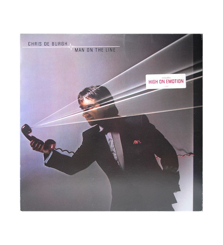 Chris de Burgh - Man On The Line (LP, Album) mesvinyles.fr