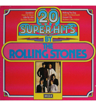 The Rolling Stones - 20 Super Hits By The Rolling Stones (LP, Comp) mesvinyles.fr
