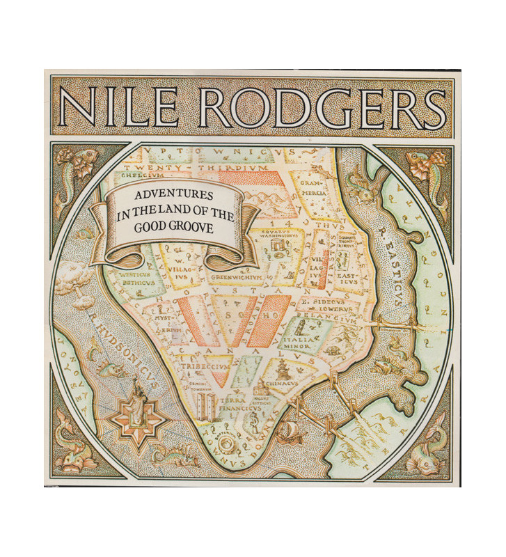 Nile Rodgers - Adventures In The Land Of The Good Groove (LP, Album) mesvinyles.fr
