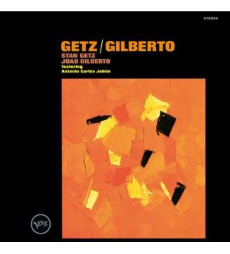 Stan Getz / Joao Gilberto* Featuring Antonio Carlos Jobim - Getz / Gilberto (LP, Album, RE, 180) mesvinyles.fr