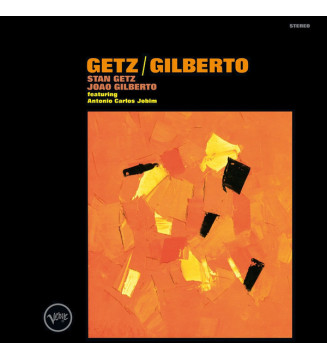 Stan Getz / Joao Gilberto* Featuring Antonio Carlos Jobim - Getz / Gilberto (LP, Album, RE, 180)