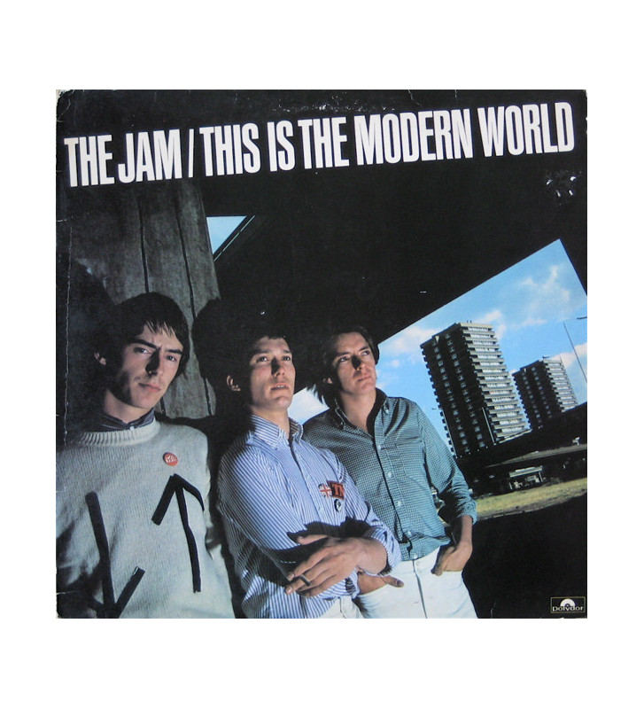 The Jam - This Is The Modern World (LP, Album, RE, 180) mesvinyles.fr
