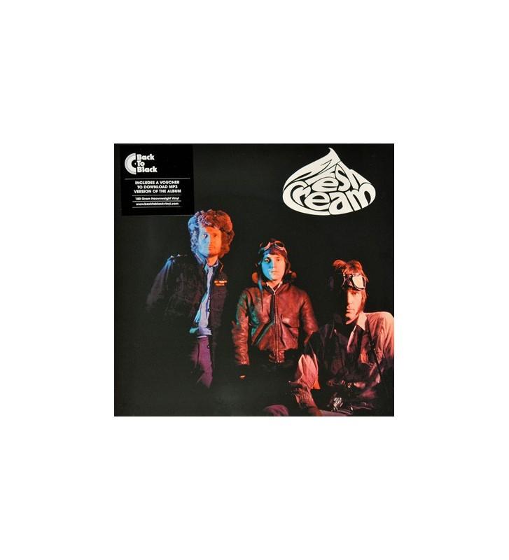 Cream (2) - Fresh Cream (LP, Album, RE, 180) mesvinyles.fr