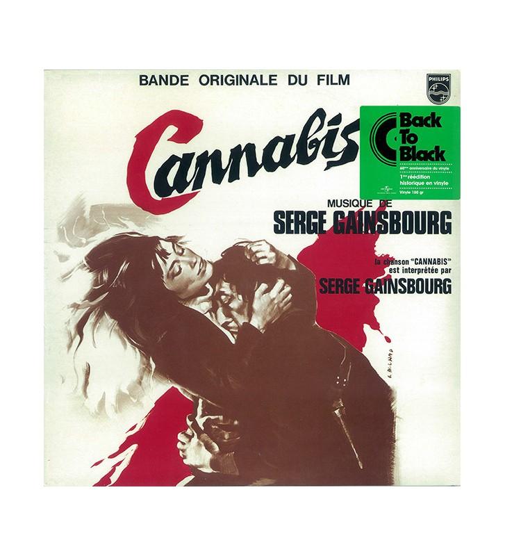 """Serge Gainsbourg - Bande Originale Du Film """"Cannabis"""" (LP, Album, RE, 180) mesvinyles.fr"""