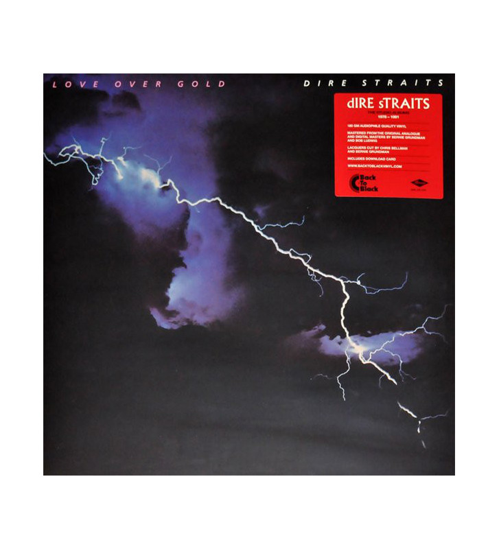 Dire Straits - Love Over Gold (LP, Album, RE, RM, 180) mesvinyles.fr