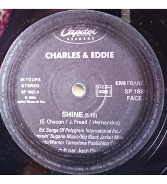 "Charles & Eddie - Shine (12"", S/Sided)"