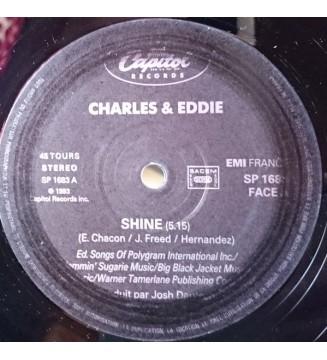 "Charles & Eddie - Shine (12"", S/Sided) mesvinyles.fr"