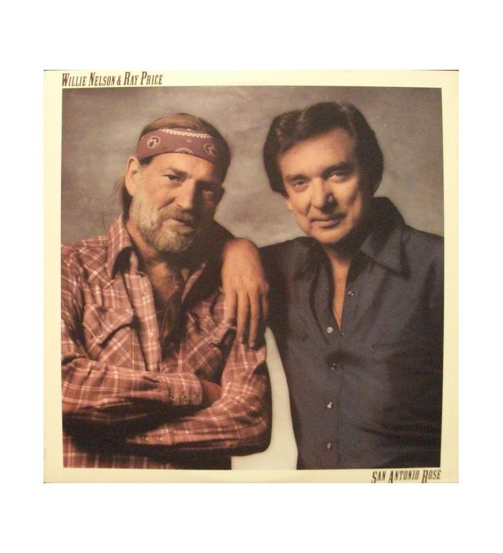 Willie Nelson & Ray Price - San Antonio Rose (LP, Album) mesvinyles.fr