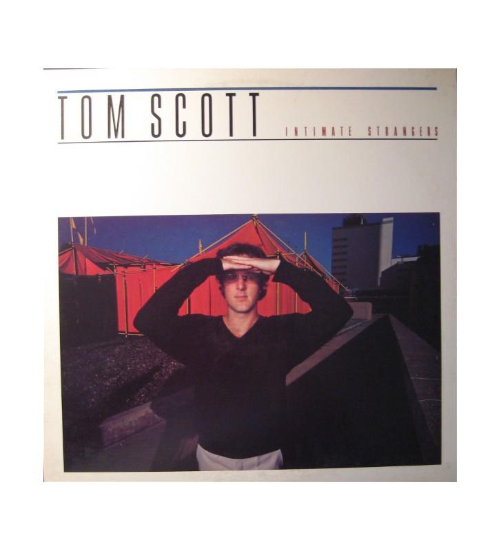 Tom Scott - Intimate Strangers (LP, Album) mesvinyles.fr