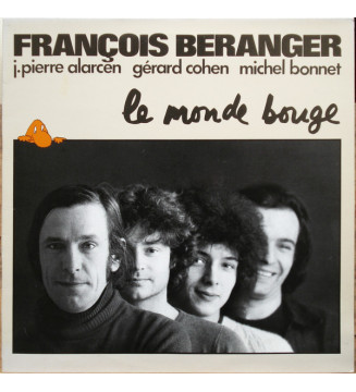 François Béranger - Le Monde Bouge (LP, Album) mesvinyles.fr