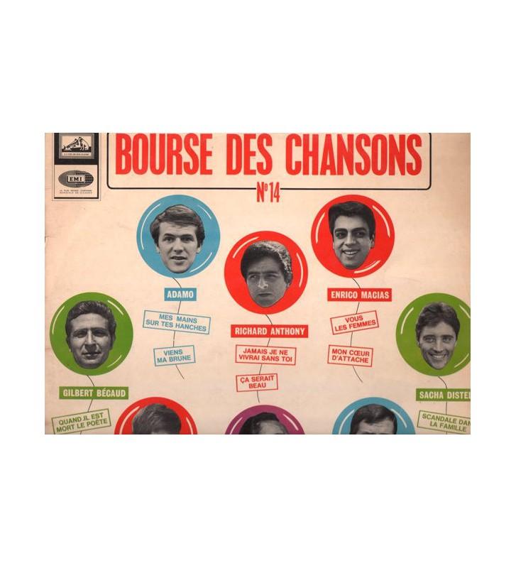 Various - La Bourse Des Chansons N° 14 (LP, Comp) mesvinyles.fr