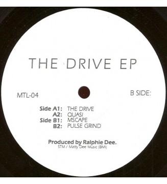 "Ralphie Dee - The Drive EP (12"", EP) mesvinyles.fr"