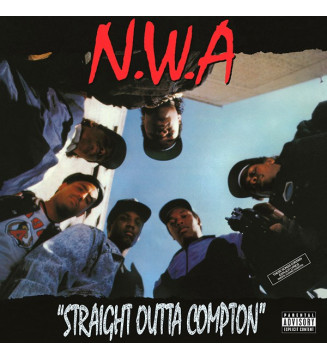 N.W.A* - Straight Outta Compton (LP, Album, RE, 180) mesvinyles.fr