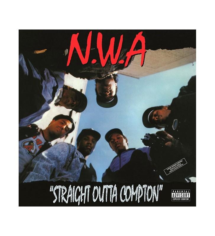 N.W.A* - Straight Outta Compton (LP, Album, RE, 180) mesvinyles.fr