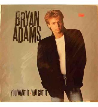 Bryan Adams - You Want It, You Got It (LP, Album, RE) mesvinyles.fr
