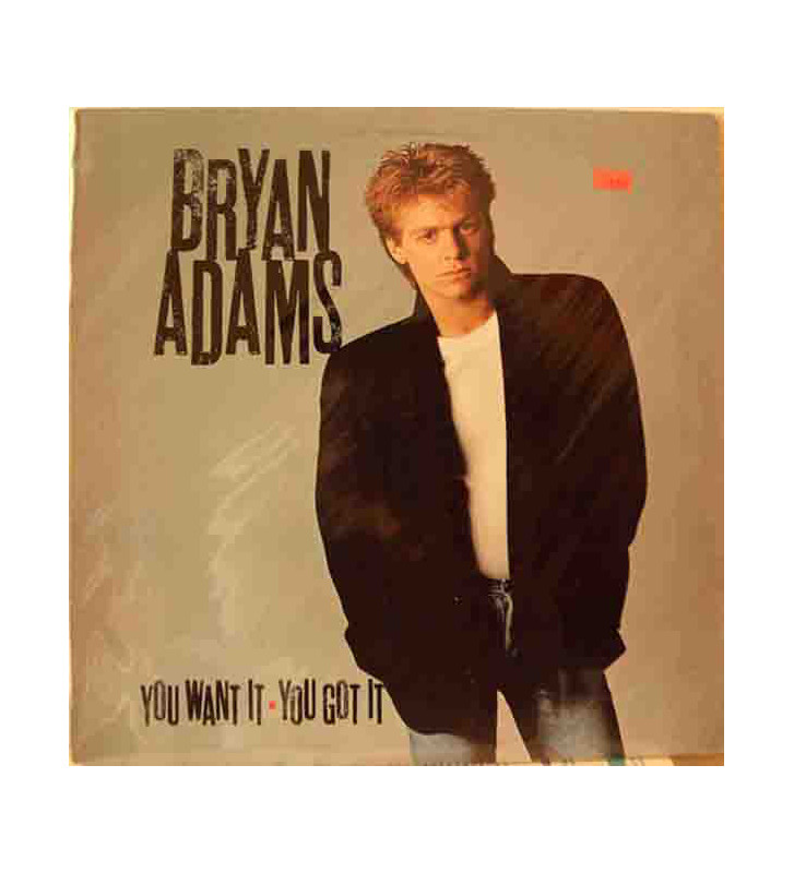 Bryan Adams - You Want It, You Got It (LP, Album, RE) mesvinyles.fr