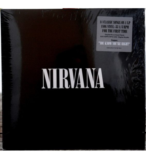 Nirvana - Nirvana (LP, Comp, RE, 180)