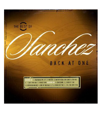 Sanchez - The Best Of Sanchez Back At One (LP, Comp) mesvinyles.fr
