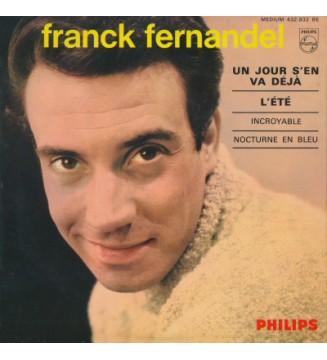 """Franck Fernandel - Un Jour S'en Va Déja / L'été / Incroyable / Nocturne En Bleu (7"""", EP) mesvinyles.fr"""