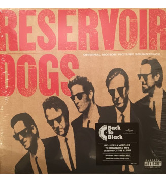 Various - Reservoir Dogs (Original Motion Picture Soundtrack) (LP, Comp, RP) mesvinyles.fr