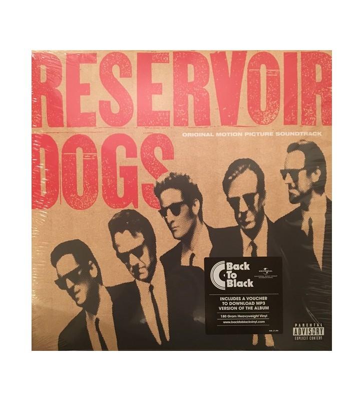 Various - Reservoir Dogs (Original Motion Picture Soundtrack) (LP, Comp, RP) mesvinyles.fr