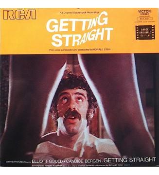 Ronald Stein - Getting Straight (Original Soundtrack) (LP, Gat) mesvinyles.fr