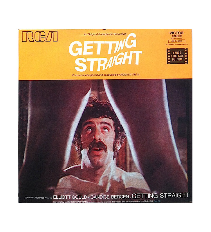 Ronald Stein - Getting Straight (Original Soundtrack) (LP, Gat) mesvinyles.fr