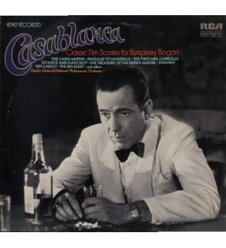 Charles Gerhardt / National Philharmonic Orchestra - Casablanca - Classic Film Scores For Humphrey Bogart (LP, Album)