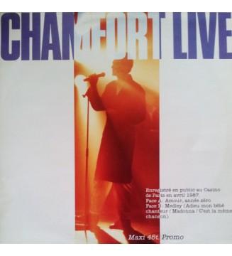 "Alain Chamfort - Chamfort Live (12"", Maxi, Promo) mesvinyles.fr"